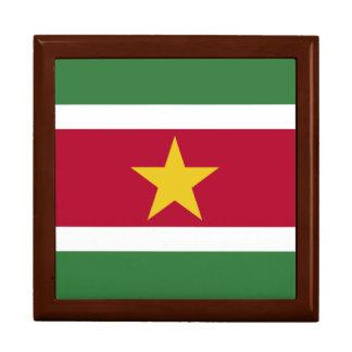 Suriname Flag Keepsake Boxes
