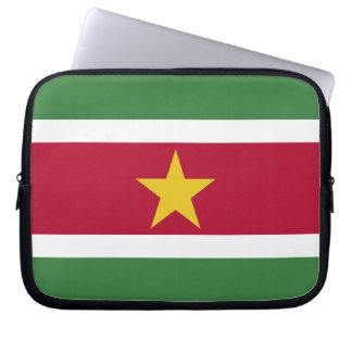 Suriname Flag Laptop Sleeve