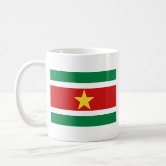 Suriname Flag ~ Map Mug