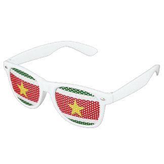 Suriname Flag Party Sunglasses