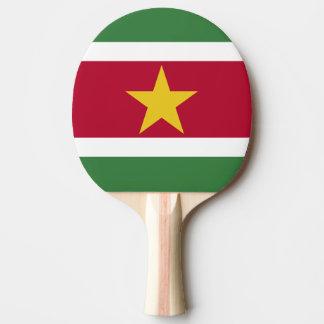 Suriname Flag Ping Pong Paddle