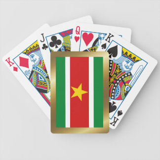 Suriname Flag Playing Cards