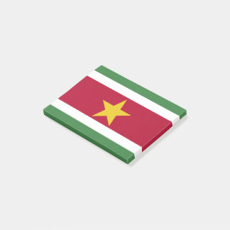 Suriname Flag Post-it Notes