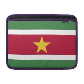 Suriname Flag Sleeve For MacBook Air