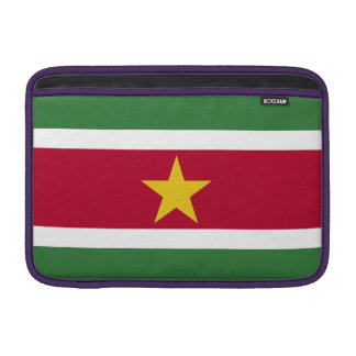 Suriname Flag Sleeve For MacBook Air
