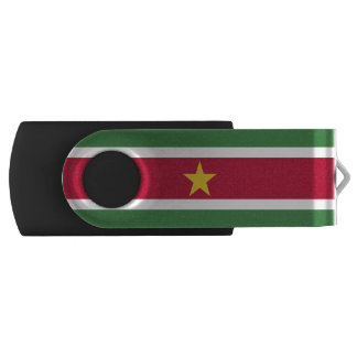 Suriname Flag USB Flash Drive