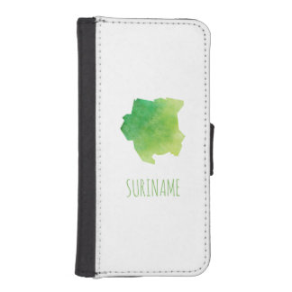 Suriname iPhone SE/5/5s Wallet Case