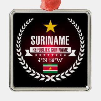 Suriname Metal Ornament