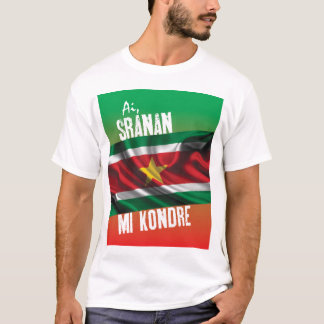 Suriname t-shirt with text