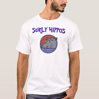 SURLY HIPPOS team shirt
