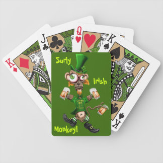 Surly Irish Monkey Bicycle Playing Cards