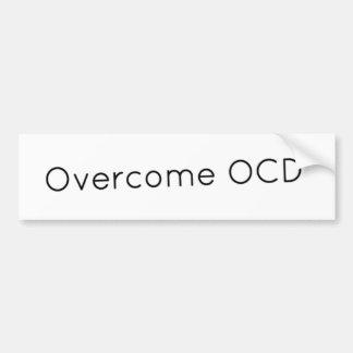 Surmontez l'adhésif pour pare-chocs d'OCD Autocollant De Voiture