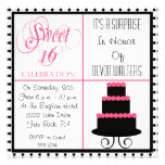 Surprise 16th Birthday-Sweet 16 Party Invitation