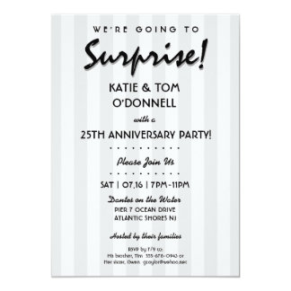 SURPRISE! 30th or Any Anniversary Party Invitation