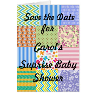 Surprise Baby Shower Intvitation Card