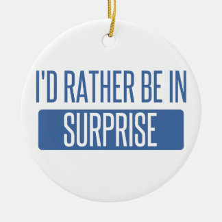 Surprise Ceramic Ornament