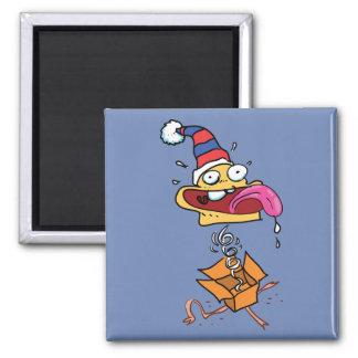 surprise clown funny cartoon magnet