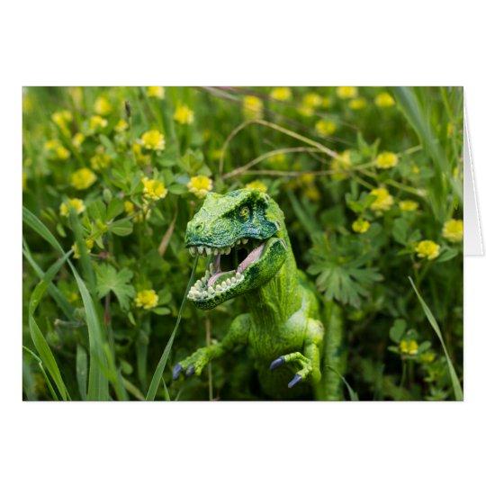 Surprise Happy Dinosaur Card