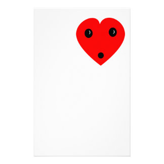 """""""Surprise Heart"""" Stationery"""