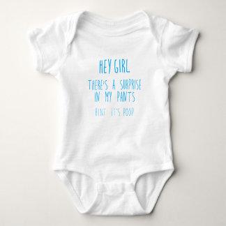 """Surprise in my Pants"" baby bodysuit"