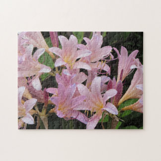 Surprise Lilies After the Rain Jigsaw Puzzle