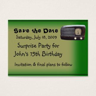 Surprise Party Business Card