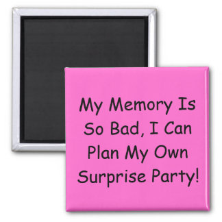 Surprise Party Magnet
