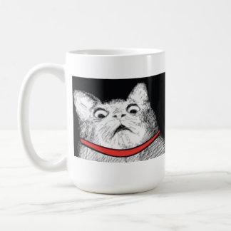 Surprised Cat Gasp Meme - Mug