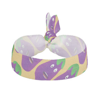 Surprised Eggplant by Kenneth Yoncich Hair Tie