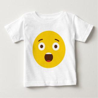 Surprised Emoji Baby T-Shirt