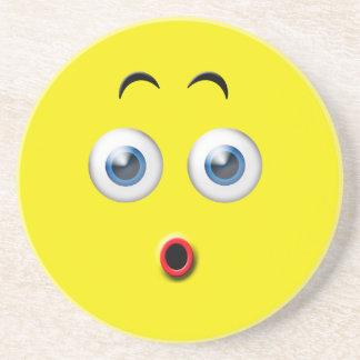 Surprised Emoji Coaster