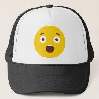 Surprised Emoji Trucker Hat