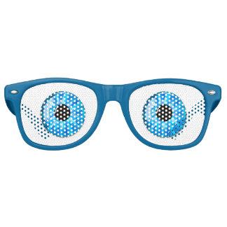 Surprised Eyes Retro Sunglasses