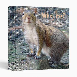 Surprised Squirrel Binder