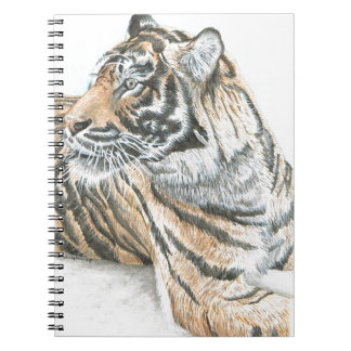 Surprised Tiger Watercolour Notebooks