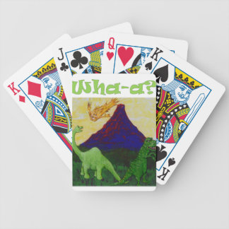 Surpsied Dinosaurs Poker Deck