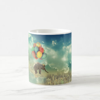Surreal Balloon Elephant Mug