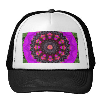 Surreal Blossoms, Flower Mandala Trucker Hat