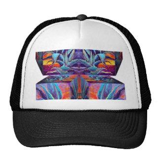 Surreal Blue Agave, Sunrise design by Sharles Trucker Hat