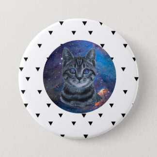 Surreal Cat 3 Inch Round Button