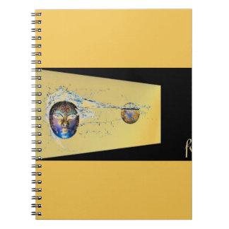 SURREAL DIGITAL ART NOTE BOOKS