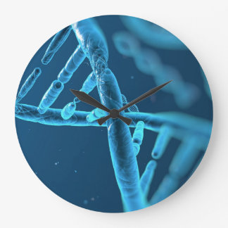 Surreal DNA Image Large Clock