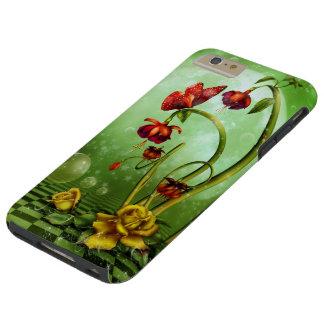 Surreal Flower Fantasy Tough iPhone 6 Plus Case