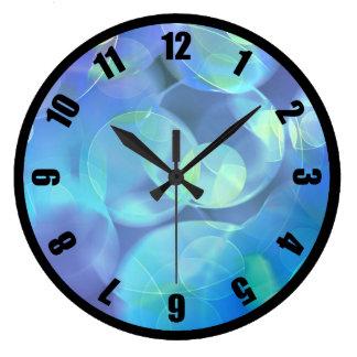 Surreal Fractal Abstract Design Clock