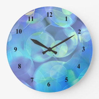 Surreal Fractal Abstract Design Clock