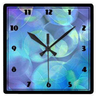 Surreal Fractal Abstract Design Clocks