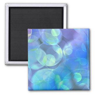 Surreal Fractal Abstract Design Refrigerator Magnets
