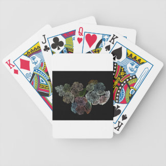 Surreal fractal flowers bicycle playing cards