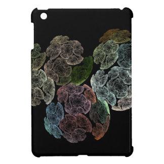 Surreal fractal flowers iPad mini covers