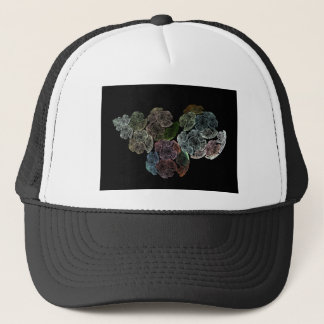 Surreal fractal flowers trucker hat